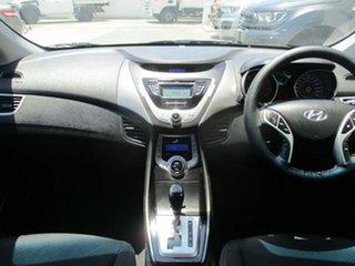 2011 Hyundai Elantra MD Active White 6 Speed Automatic Sedan