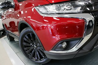 2020 Mitsubishi Outlander ZL MY21 Black Edition 2WD Red Diamond 6 Speed Constant Variable Wagon.
