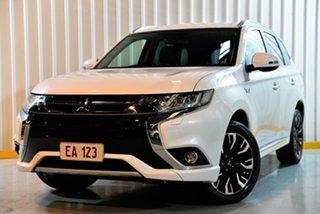 2018 Mitsubishi Outlander ZK MY18 LS PHEV White 1 Speed Automatic Wagon.