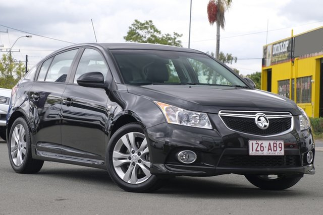 Used Holden Cruze JH Series II MY14 SRi, 2014 Holden Cruze JH Series II MY14 SRi Phantom Black 6 Speed Sports Automatic Hatchback
