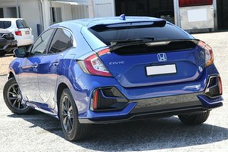 2020 Honda Civic 10th Gen MY20 VTi-S Brilliant Sporty Blue 1 Speed Constant Variable Hatchback.