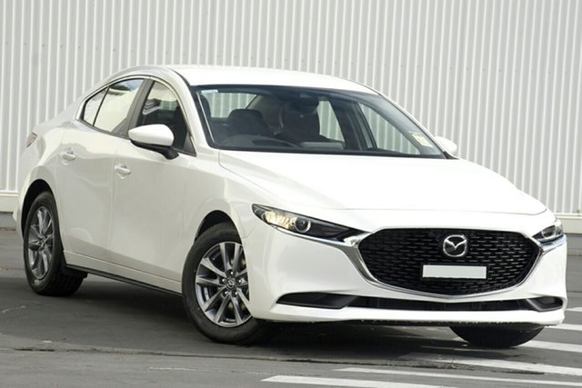New Mazda 3 BP2S7A G20 SKYACTIV-Drive Pure East Maitland, 2021 Mazda 3 BP2S7A G20 SKYACTIV-Drive Pure Black 6 Speed Sports Automatic Sedan