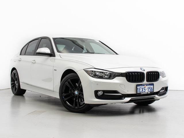 Used BMW 320d F30 Sport Line, 2012 BMW 320d F30 Sport Line White 8 Speed Automatic Sedan
