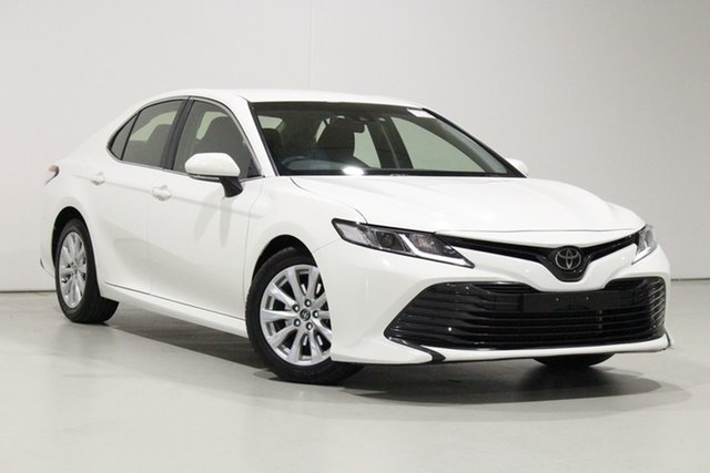 Used Toyota Camry ASV70R Ascent Bentley, 2018 Toyota Camry ASV70R Ascent White 6 Speed Automatic Sedan