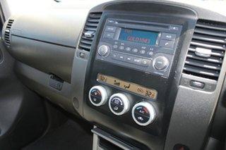 2012 Nissan Navara D40 MY12 ST (4x4) Black 6 Speed Manual Dual Cab Pick-up