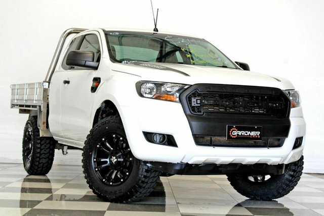 Used Ford Ranger PX MkII MY17 Update XL 2.2 Hi-Rider (4x2), 2017 Ford Ranger PX MkII MY17 Update XL 2.2 Hi-Rider (4x2) White 6 Speed Automatic Super Cab Chassis