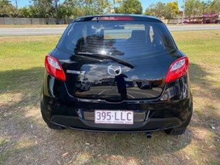 2008 Mazda 2 3 Door Hatch Black 5 Speed Manual Hatchback