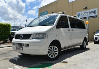 2006 Volkswagen Transporter T5 MY07 (LWB) White 6 Speed Tiptronic Van.