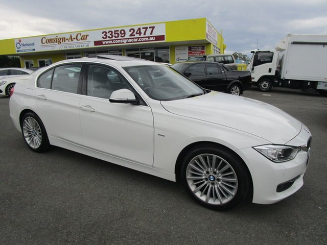 Used BMW 320i F30 MY1112 320i, 2013 BMW 320i F30 MY1112 320i White 8 Speed Sports Automatic Sedan
