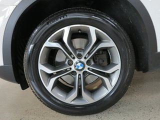 2016 BMW X3 F25 LCI xDrive20i Steptronic White 8 Speed Automatic Wagon
