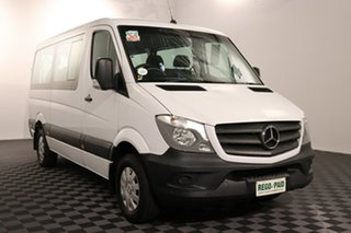 2017 Mercedes-Benz Sprinter NCV3 313CDI Low Roof MWB 7G-Tronic Transfer White 7 speed Automatic Bus.