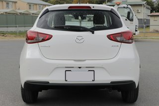 2021 Mazda 2 DJ2HAA G15 SKYACTIV-Drive Pure Snowflake White Pearl 6 Speed Sports Automatic Hatchback