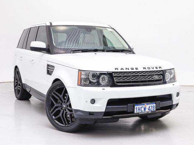 Used Land Rover Range Rover MY12 Sport 3.0 SDV6 Luxury, 2013 Land Rover Range Rover MY12 Sport 3.0 SDV6 Luxury Fuji White 6 Speed Automatic Wagon
