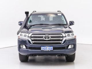 2016 Toyota Landcruiser VDJ200R MY16 VX (4x4) Blue 6 Speed Automatic Wagon.