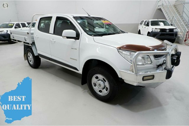 Used Holden Colorado RG MY13 LX Crew Cab 4x2 Kenwick, 2013 Holden Colorado RG MY13 LX Crew Cab 4x2 White 6 Speed Sports Automatic Cab Chassis