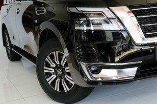 2021 Nissan Patrol Y62 MY21 TI-L Gun Metallic 7 Speed Sports Automatic Wagon.