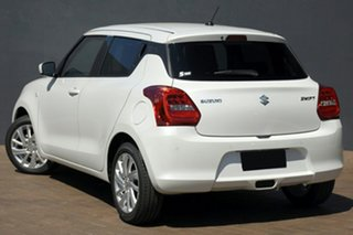2021 Suzuki Swift AZ Series II GL Navi Plus Pure White Continuous Variable Hatchback.