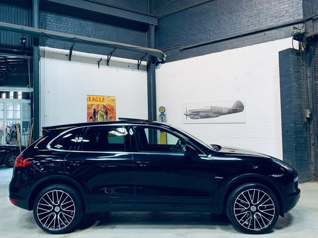Used Porsche Cayenne 92A MY13 Diesel Tiptronic Port Melbourne, 2013 Porsche Cayenne 92A MY13 Diesel Tiptronic Black 8 Speed Sports Automatic Wagon