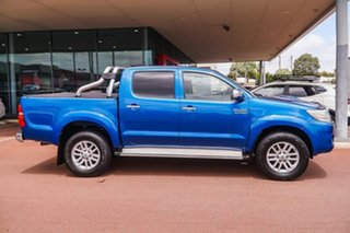 2013 Toyota Hilux KUN26R MY14 SR5 Double Cab Blue 5 Speed Automatic Utility