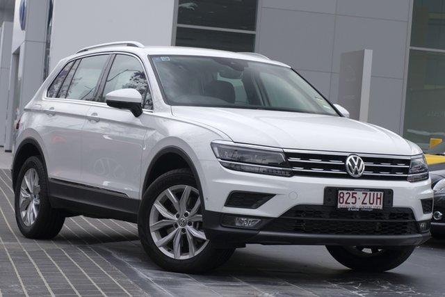 Demo Volkswagen Tiguan 5N MY20 132TSI DSG 4MOTION Comfortline, 2019 Volkswagen Tiguan 5N MY20 132TSI DSG 4MOTION Comfortline Pure White 7 Speed