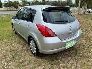 2007 Nissan Tiida Silver 5 Speed Manual