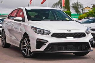 2020 Kia Cerato BD MY21 Sport+ White 6 Speed Sports Automatic Hatchback.