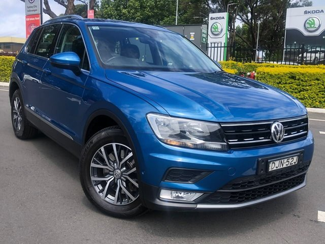 Used Volkswagen Tiguan 5N MY16 132TSI DSG 4MOTION, 2016 Volkswagen Tiguan 5N MY16 132TSI DSG 4MOTION Blue 7 Speed Sports Automatic Dual Clutch Wagon