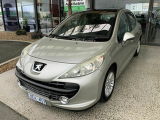 2008 Peugeot 207 XT Silver 4 Speed Automatic Hatchback