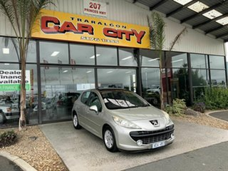 2008 Peugeot 207 XT Silver 4 Speed Automatic Hatchback.