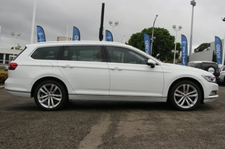 2015 Volkswagen Passat 3C (B8) MY16 140TDI DSG Highline White 6 Speed Sports Automatic Dual Clutch