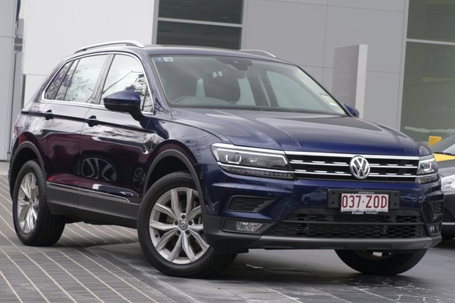 Demo Volkswagen Tiguan 5N MY20 132TSI DSG 4MOTION Comfortline, 2019 Volkswagen Tiguan 5N MY20 132TSI DSG 4MOTION Comfortline Atlantic Blue 7 Speed