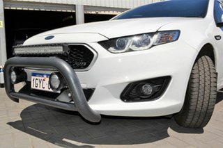 2016 Ford Falcon FG X XR6 Super Cab White 6 Speed Sports Automatic Cab Chassis