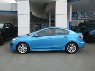 2010 Mazda 3 BL 10 Upgrade SP25 Blue 5 Speed Automatic Sedan.