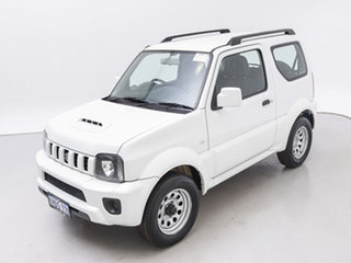 2013 Suzuki Jimny Sierra (4x4) White 4 Speed Automatic 4x4 Wagon