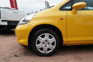 2006 Honda Jazz Upgrade GLi Yellow 5 Speed Manual Hatchback.