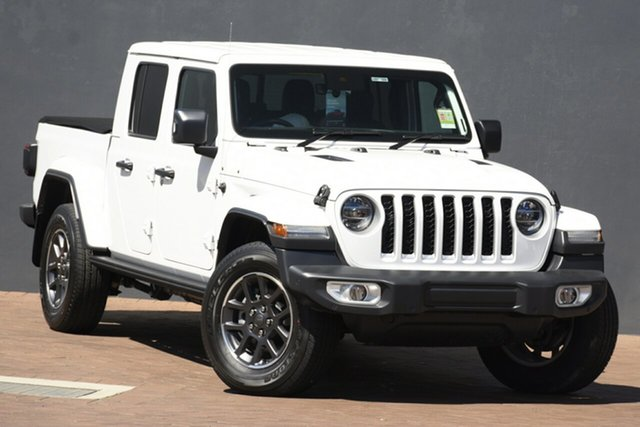 New Jeep Gladiator JT MY20 Overland Pick-up Port Macquarie, 2020 Jeep Gladiator JT MY20 Overland Pick-up Bright White 8 Speed Automatic Utility