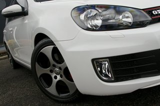 2012 Volkswagen Golf VI MY12.5 GTi White 6 Speed Manual Hatchback.