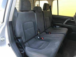 2015 Toyota Landcruiser VDJ200R MY13 GX Silver 6 Speed Sports Automatic Wagon
