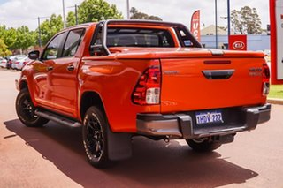 2019 Toyota Hilux GUN126R Rogue Double Cab Orange 6 Speed Sports Automatic Utility.