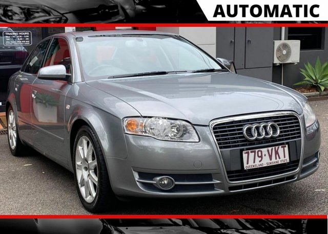 Used Audi A4 B7 Multitronic Ashmore, 2006 Audi A4 B7 Multitronic Metallic Grey 7 Speed Constant Variable Sedan