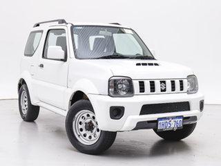 2013 Suzuki Jimny Sierra (4x4) White 4 Speed Automatic 4x4 Wagon.