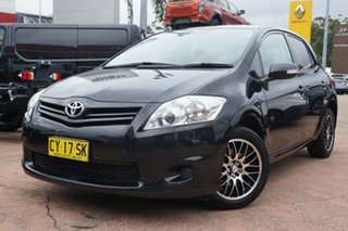 2010 Toyota Corolla ZRE152R MY10 Ascent Black 4 Speed Automatic Hatchback.
