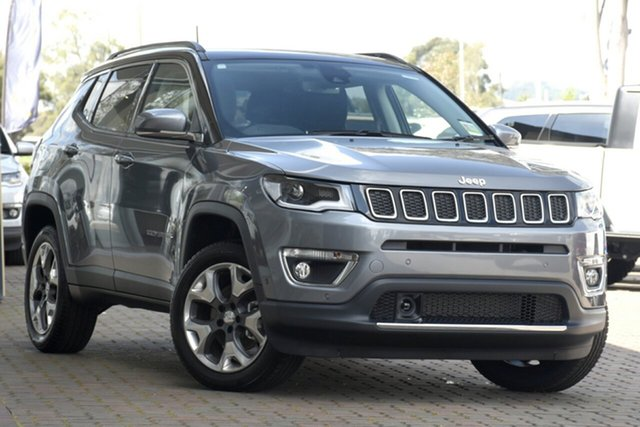 New Jeep Compass M6 MY20 Limited Nunawading, 2020 Jeep Compass M6 MY20 Limited Grey Magnesio 9 Speed Automatic Wagon
