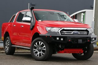 2019 Ford Ranger PX MkIII 2019.00MY XLT Red 10 Speed Sports Automatic Super Cab Pick Up.
