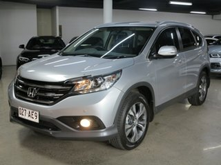 2014 Honda CR-V RM MY15 VTi 4WD Plus Silver 5 Speed Sports Automatic Wagon.