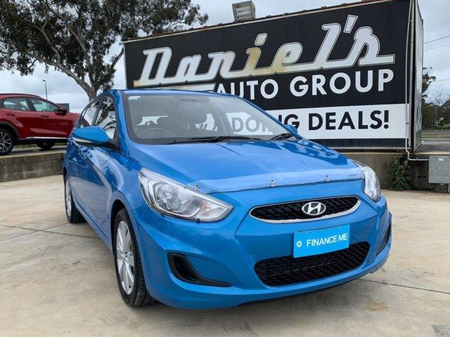 Used Hyundai Accent  Sport, 2017 Hyundai Accent Sport Blue Sports Automatic Hatchback