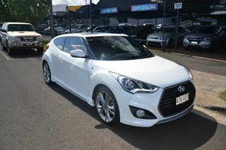 2016 Hyundai Veloster FS4 Series 2 SR Turbo + White 6 Speed Manual Coupe.