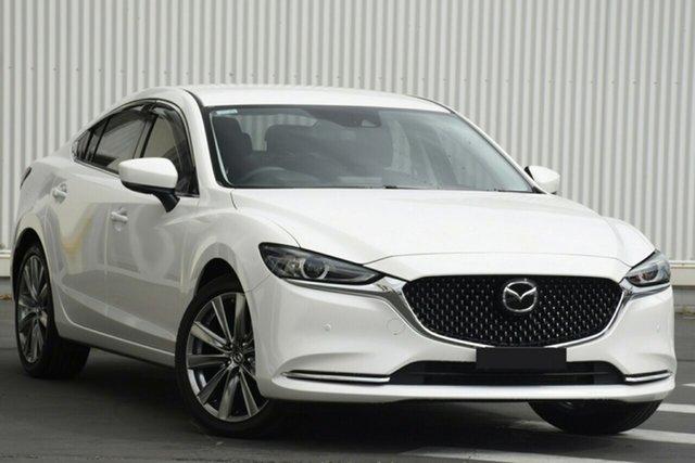 New Mazda 6 GL1033 GT SP SKYACTIV-Drive Liverpool, 2021 Mazda 6 GL1033 GT SP SKYACTIV-Drive Snowflake White Pearl 6 Speed Sports Automatic Sedan