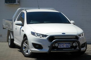 2016 Ford Falcon FG X XR6 Super Cab White 6 Speed Sports Automatic Cab Chassis.