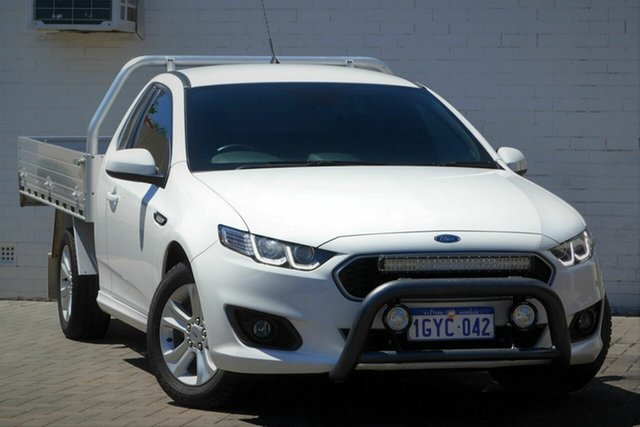 Used Ford Falcon FG X XR6 Super Cab Mount Lawley, 2016 Ford Falcon FG X XR6 Super Cab White 6 Speed Sports Automatic Cab Chassis